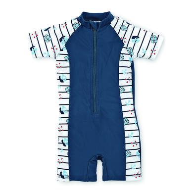 Sterntaler Boys UV Schwimmanzug marine blau Gr.Babymode (6 24 Monate) Jungen