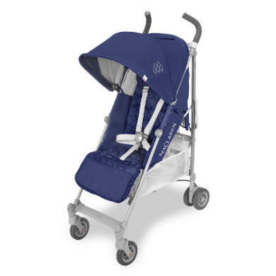 MacLaren Buggy Quest Medieval Blue-Silver