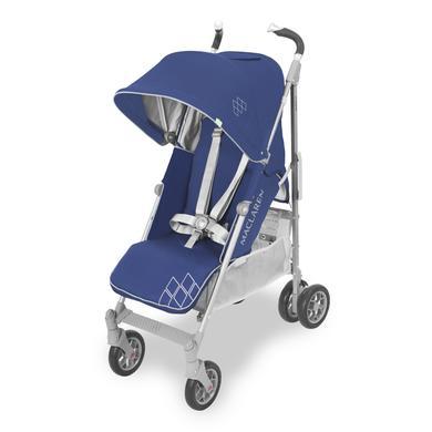 MacLaren Buggy Techno XT Blue-Silver