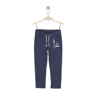 Minigirlhosen - s.Oliver Girls Jogginghose dark blue - Onlineshop Babymarkt