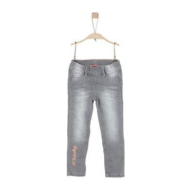 Minigirlhosen - s.Oliver Girls Jeans grey denim stretch - Onlineshop Babymarkt