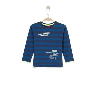 Miniboyoberteile - s.Oliver Boys Sweatshirt dark blue stripes - Onlineshop Babymarkt