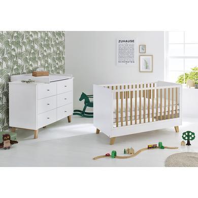 Babyzimmer - Pinolino Sparset Pan extrabreit weiß  - Onlineshop Babymarkt
