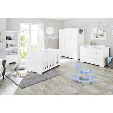Pinolino dětský pokoj Polar třídveřový extra široký - bílá
