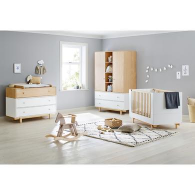Babyzimmer - Pinolino Kinderzimmer Boks 2 türig breit weiß  - Onlineshop Babymarkt