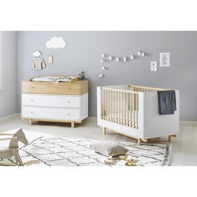 Babyzimmer - Pinolino Sparset Boks breit 2 teilig weiß  - Onlineshop Babymarkt