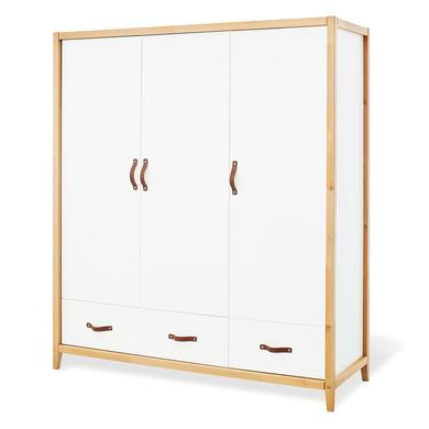 Pinolino šatní skříň Calimero třídveřová - bílá