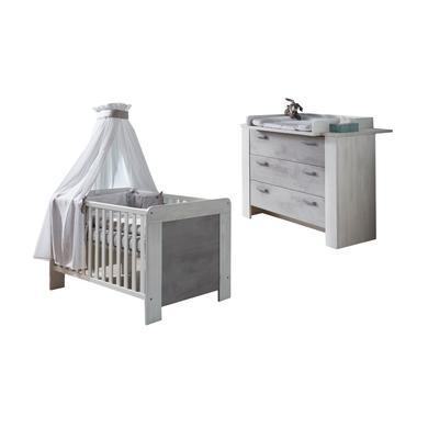 Babyzimmer - arthur berndt Sparset Lola 2 teilig weiß  - Onlineshop Babymarkt