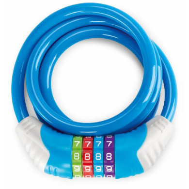 Puky ® Sicherheitskabelschloss KS, blau 9433