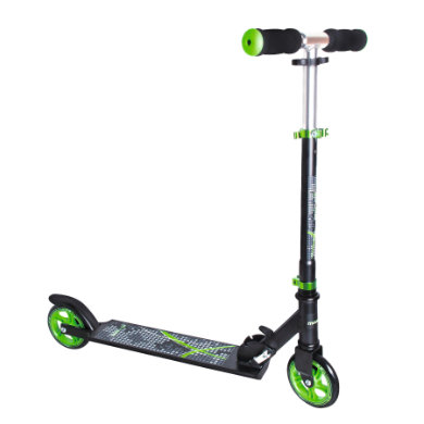Authentic Sports Aluminium Scooter Muuwmi schwarz grün, 125 mm