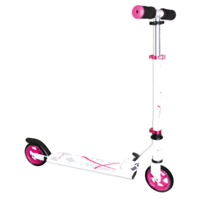 Authentic Sports Aluminium Scooter Muuwmi weiß pink, 125 mm rosa pink