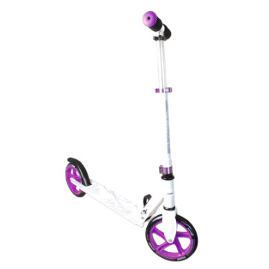 Authentic Sports Aluminium Scooter Muuwmi weiß lila, 200 mm