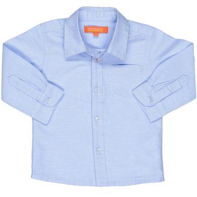 Babytaufbekleidung - Staccato Boys Hemd Streifen blau – Gr.Babymode (6 – 24 Monate) – Jungen - Onlineshop Babymarkt