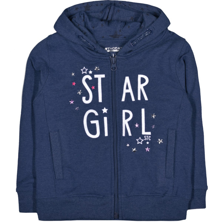STACCATO Girls Sweatjacke royal structure
