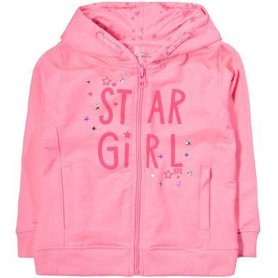 Staccato Girls Sweatjacke pink structure rosa pink Gr.Kindermode (2 6 Jahre) Mädchen