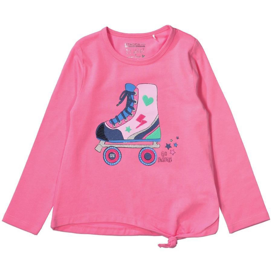 STACCATO Girls Langarmshirt pink