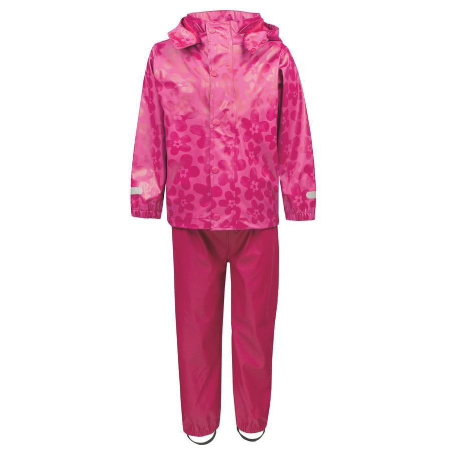 TICKET TO HEAVEN Regenanzug Gummi 2 tlg., mit abnehmbarer Kapuze, pink