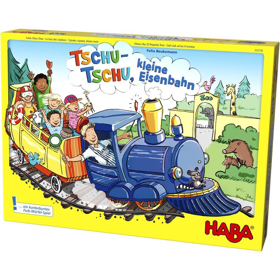 HABA Kinderspiel - Tschu-Tschu, kleine Eisenbahn