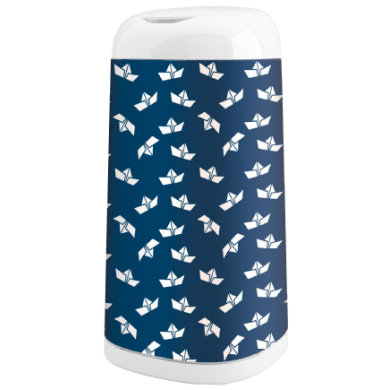 Image of Angelcare ® Bezug Dress-Up Design: Boat - blau