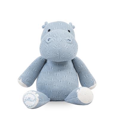jollein Hippo Schmusetier Soft, soft blue - blau