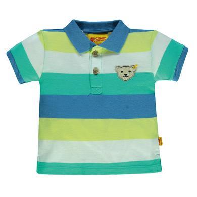 Steiff  Boys Poloshirt, gestreift - bunt - Gr.80 - Jungen