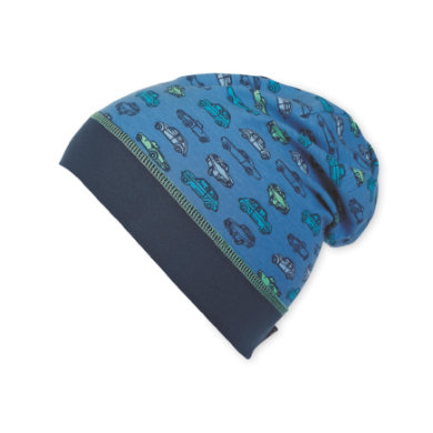 Sterntaler Boys Slouch Beanie Autos Streifen jeansblau Gr.Kindermode (2 6 Jahre) Jungen