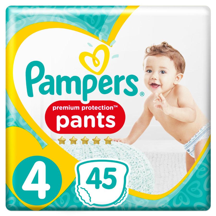 Pampers Premium Protection Pants Gr. 4 Maxi 9 -...