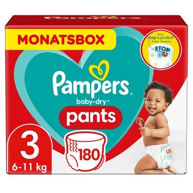 Image of Pampers Baby Dry Pants Gr. 3 Midi 6 - 11kg Monthbox 180 stuks
