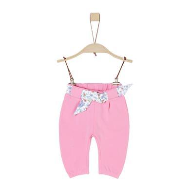 s.Oliver Girls Sweathose light pink rosa pink Gr.Newborn (0 6 Monate) Mädchen