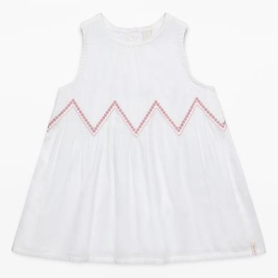Babytaufbekleidung - Esprit Girls Kleid off white – weiß – Gr.Babymode (6 – 24 Monate) – Mädchen - Onlineshop Babymarkt