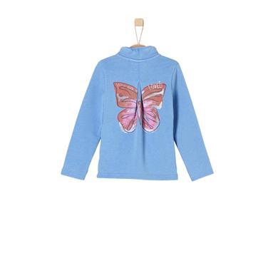 Minigirljacken - s.Oliver Girls Sweatjacke light blue - Onlineshop Babymarkt