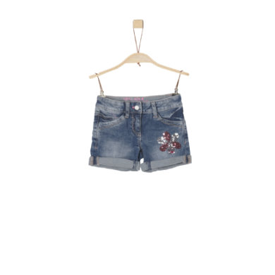 Minigirlhosen - s.Oliver Girls Jeansshorts blue denim stretch - Onlineshop Babymarkt