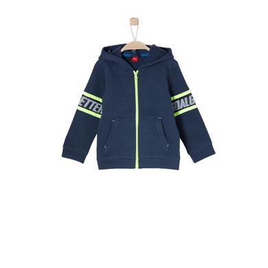 Miniboyjacken - s.Oliver Boys Sweatjacke dark blue - Onlineshop Babymarkt