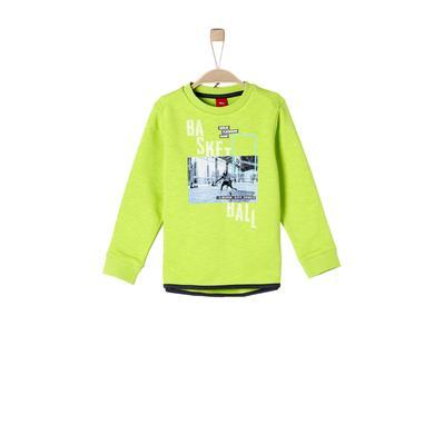 Miniboyoberteile - s.Oliver Boys Sweatshirt light green - Onlineshop Babymarkt