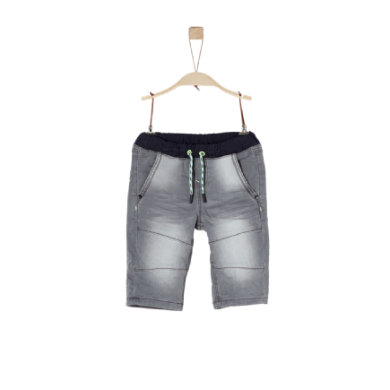 Miniboyhosen - s.Oliver Boys Bermuda grey denim stretch - Onlineshop Babymarkt