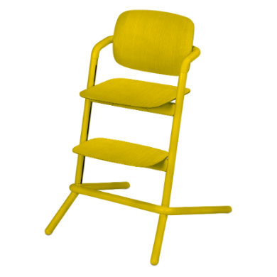 Cybex Lemo Chair Wood Canary Yellow 2019 - žlutá
