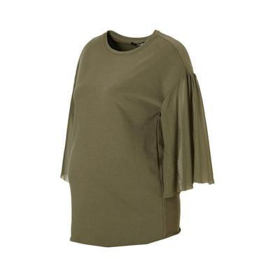 SUPERMOM T-Shirt Mesh Army - grün - Gr.Umstands...