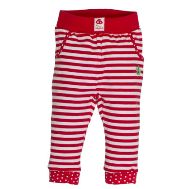Salt and Pepper BabyGlück Girls Jogginghose stripe cherry red rot Gr.Newborn (0 6 Monate) Mädchen