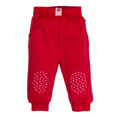 Salt and Pepper BabyGlück Girls Jogginghose patches cherry red rot Gr.56 Mädchen