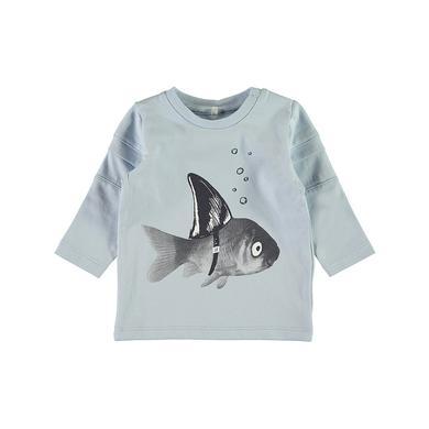 Babyoberteile - name it Boys Langarmshirt Nbmfaneo cashmere blue - Onlineshop Babymarkt