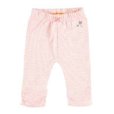 Staccato Girls Leggings Streifen soft coral orange Gr.Babymode (6 24 Monate) Mädchen