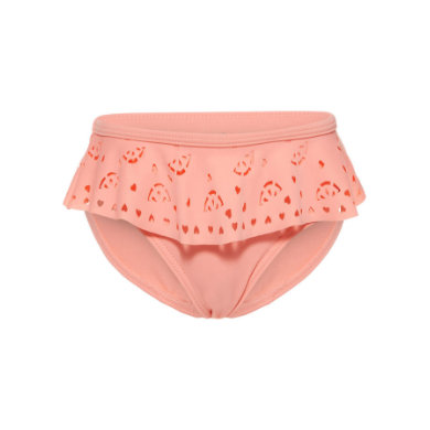 name it Girls Badehose Neon Salmon Rose rosa pink Gr.Babymode (6 24 Monate) Mädchen