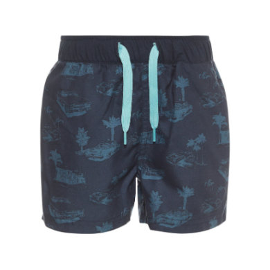name it Boys Badehose Zoxi tanager turquoise blau Gr.104 Jungen