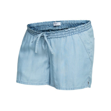 mama licious Shorts MLNESLI light blue denim