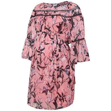 Schwangerschaftsmode für Frauen - mama licious Umstandskleid MLFIORELLA strawberry ice rosa pink Damen  - Onlineshop Babymarkt