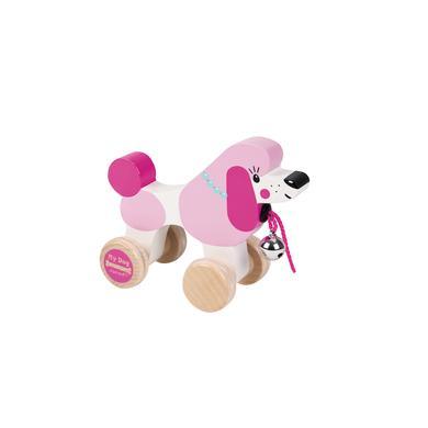 Janod ® Trækdyr - Puddel - rosa/pink