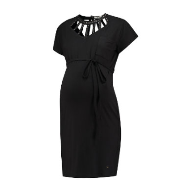 Schwangerschaftsmode für Frauen - LOVE2WAIT Umstandskleid Spider Grey schwarz Gr.M Damen  - Onlineshop Babymarkt