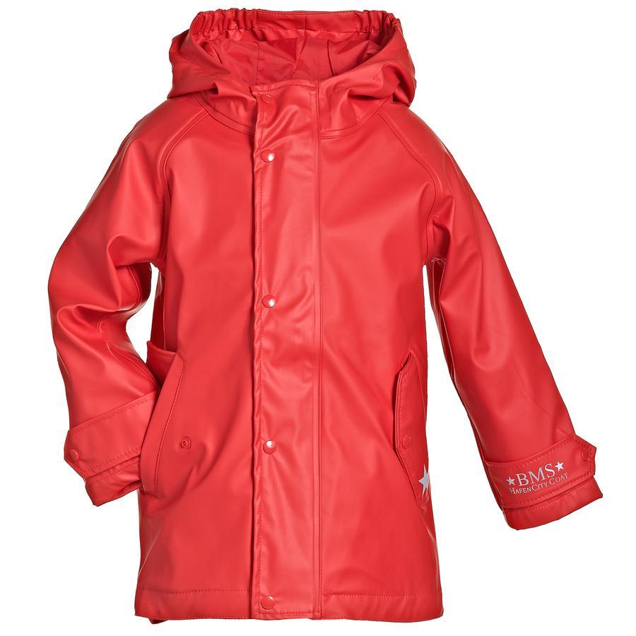 BMS HafenCity® SoftSkin® Regenmantel rot