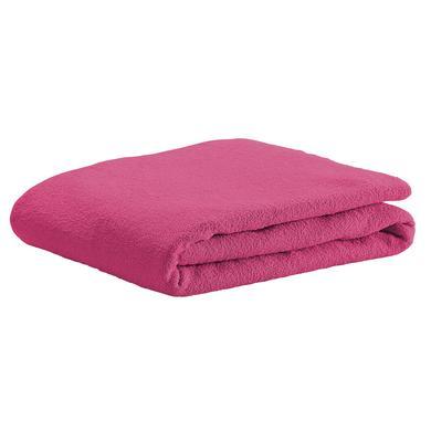 Kindertextilien - odenwälder Spannbetttuch Frottee soft pink rosa pink Gr.70x140 cm  - Onlineshop Babymarkt