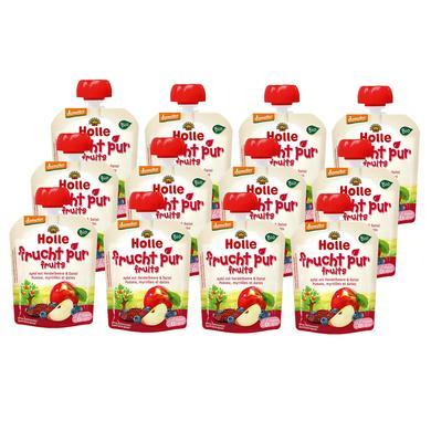 Holle Pouchy Apfel mit Heidelbeere & Dattel 12 ...